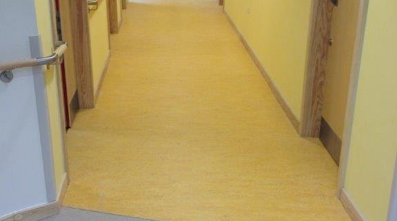 Cefn Coed Hospital Swansea Linoleum Flooring