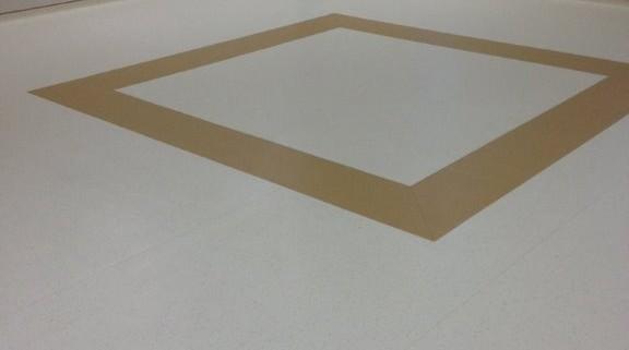 Rubber sheet flooring - Morriston Hospital
