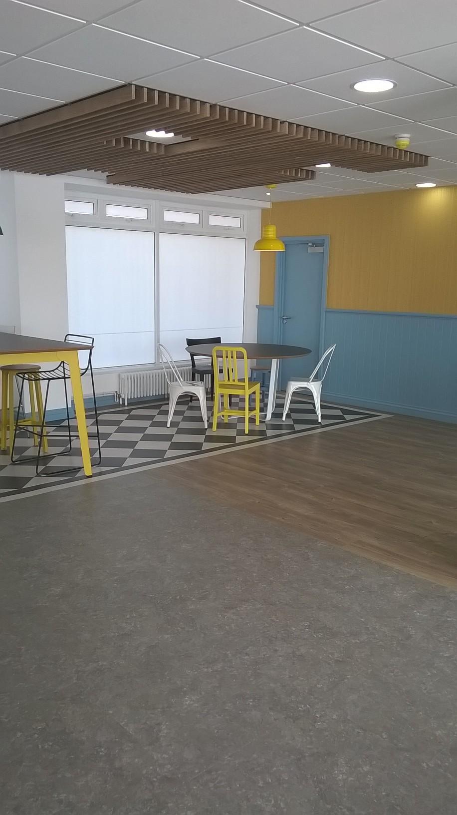 The Tropicana Weston Super Mare Amtico Safety Flooring
